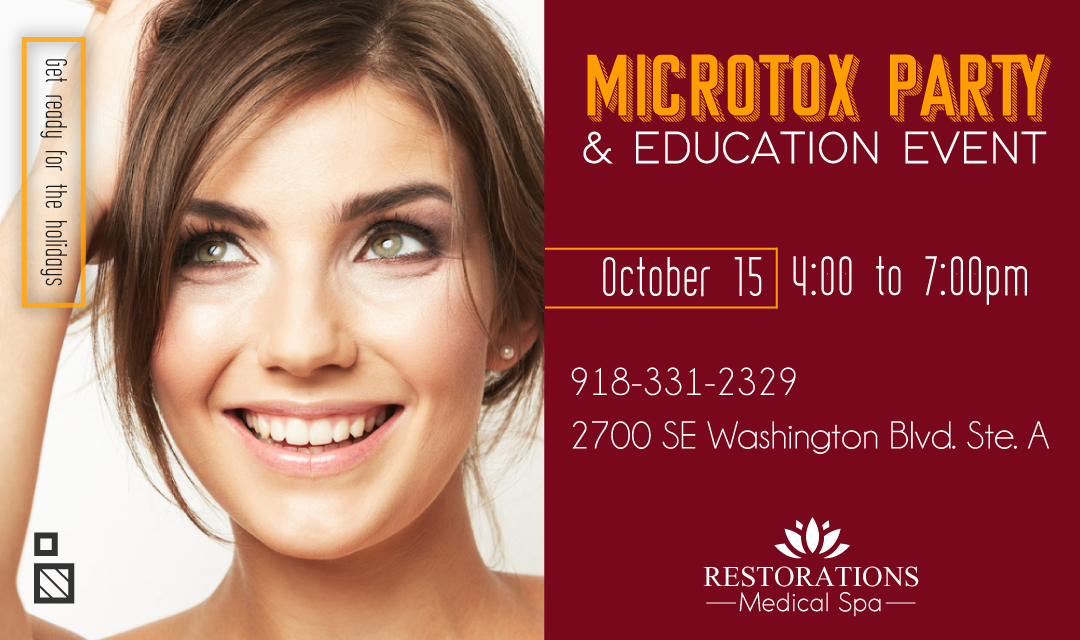 MicroTox Party & Education Event